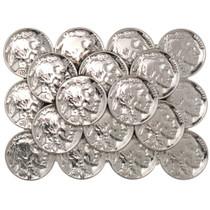 Indian Head Nickel Buckle 23585