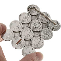 Authentic Coin Belt Buckle 23585