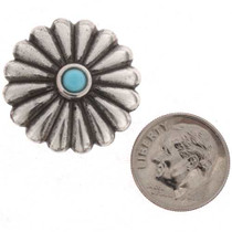 Silver Crafting Concho 25477