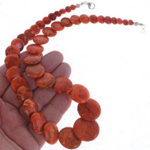 Native American Coral Necklace 25178
