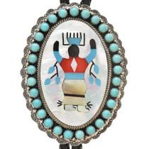 Apache Crown Dancer Bolo Tie 23775