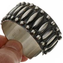 Navajo Sterling Silver Cuff 24037