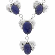 Blue Lapis Y Necklace 23552