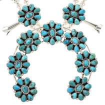 Petit Point Squash Blossom Necklace 29071