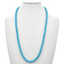 Turquoise Beaded Navajo Necklace 29699