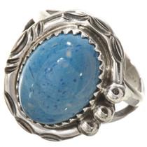 Blue Denim Lapis Silver Ring