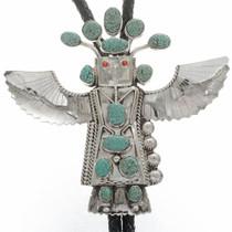 Large Eagle Dancer Bolo Tie