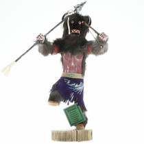 Buffalo Warrior Kachina Doll 16805