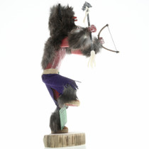 Navajo Black Buffalo Kachina Doll 16805