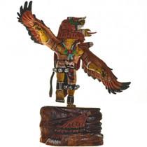 Red Tail Hawk Kachina Doll