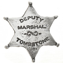 Tombstone Lawman Silver Badge 28994