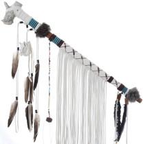 Deer Antler Peace Pipe 27653