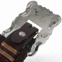 Santa Fe Hammered Silver Concho Belt 18742