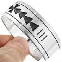Navajo Sterling Bracelet 23593