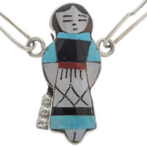 Lapis Jet Turquoise Native American Necklace 28032
