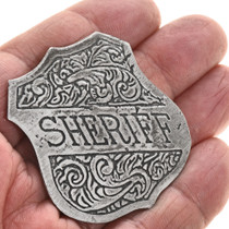 Old West Style Sheriff Badge 29004