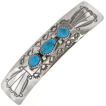 Sleeping Beauty Turquoise Barrette 23766