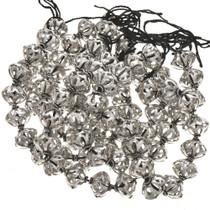 12mm x 14mm Silver Findings Filigree Bali Beads 8-1/2 inch Long Strand 0110