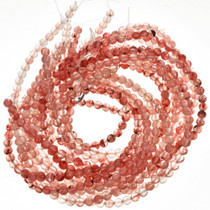 Rose Glass Beads