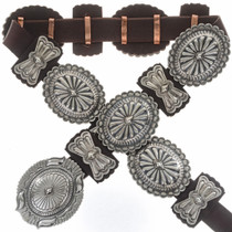 Sterling Silver Concho Belt 27900