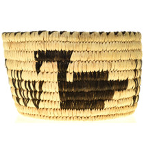 Swan Pattern Basket