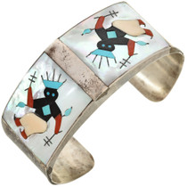 Apache Crown Dancer Zuni Cuff  0333