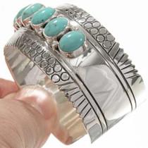 Multi Stone Navajo Turquoise Bracelet 27788