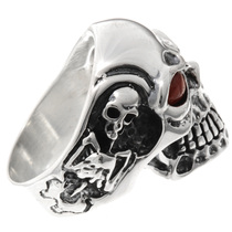 Silver Mens Ring 26023