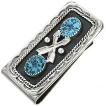 Kingman Turquoise Money Clip 26827