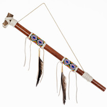 Traditional Smokable Peace Pipe 24562