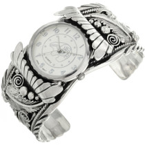 Navajo Sterling Mens Watch Cuff 31481