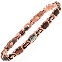 Copper Tennis Bracelet 28738