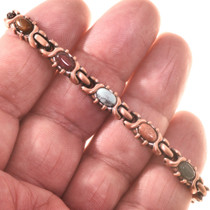 Southwest Drusy Copper Bracelet 28738
