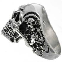 Sterling Mens Ring 26024
