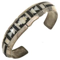 Loni Anderson Inlaid Navajo Bracelet 29470
