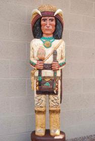 Medicine Man Wooden Indian 18687
