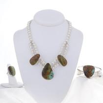 Turquoise Necklace Set 16926
