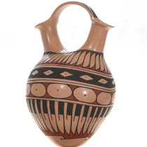 Polychrome Wedding Vase 26657