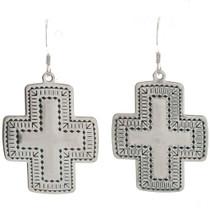 Navajo Cross Earrings 23645