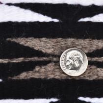 "Navajo Crystal Wool Rug Ganado Colors by Carolyn Segay 34"" x 52"""