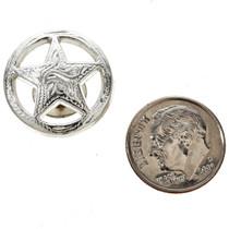 3/4' Silver Star Concho