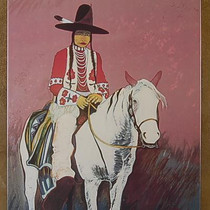 "Open Edition Canvas Transfer ""Turn of the Century Dandy"" by Crow Redstar"
