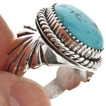 Hammered Sterling Shank Ring