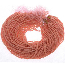 Coral 4 X 8mm Beads 25584