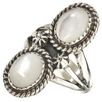 Mother Of Pearl Navajo Ring 25931