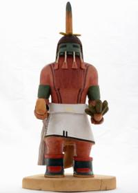 Hopi Red Beard Long Hair Kachina 24241