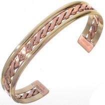 Copper Wire Gold Bracelet