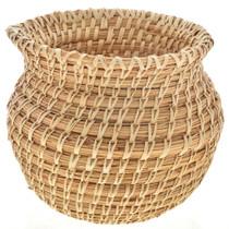 Papago Olla Basket Wheat Stitch