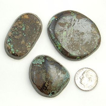 PEEK A BOO Turquoise Cabochons Various Shapes 205 Carats