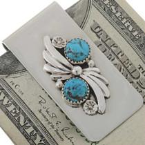 Navajo Silver Money Clip 27422